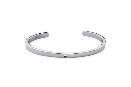 Qudo stainless steel bangle