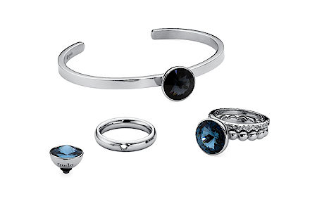 Qudo stainless steel bangle