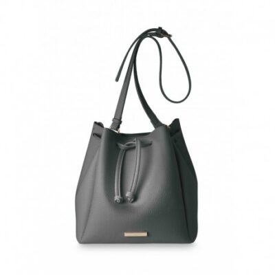 Katie Loxton bucket bag charcoal