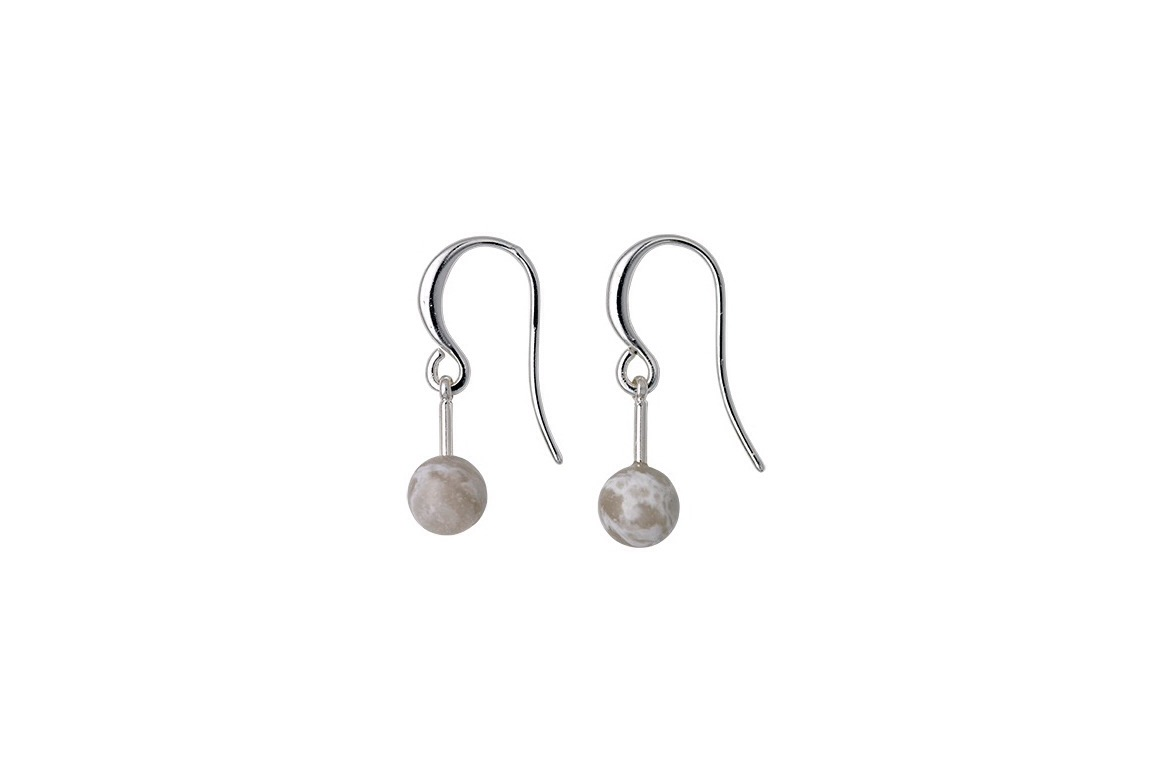 Vanessa grey drop earrings