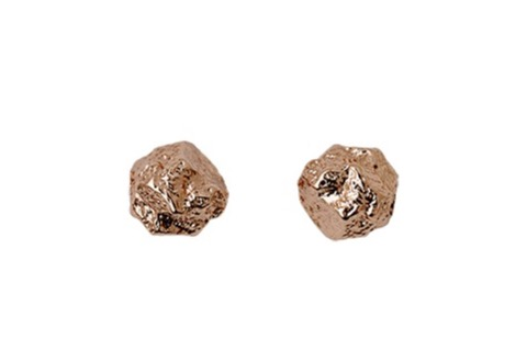 Pilgrim Rose gold studs