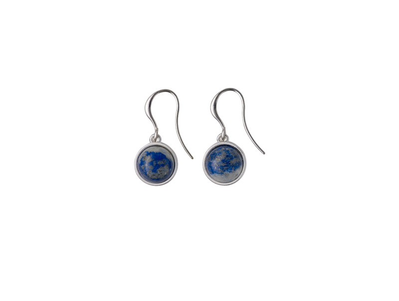 Pilgrim blue drop earrings