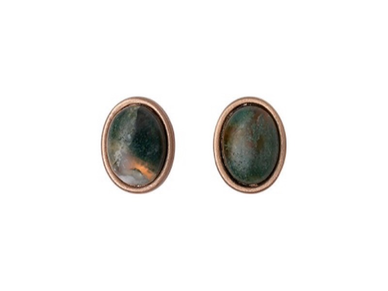 Pilgrim Jade earrings