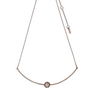 Pilgrim Carlyn bar necklace