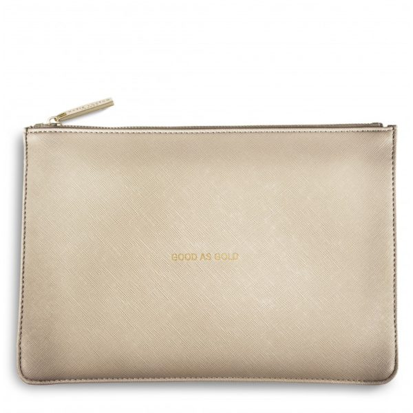 /'BEAUTIFUL DREAMER/' with gift bag Katie Loxton Perfect Pouch Powder Blue