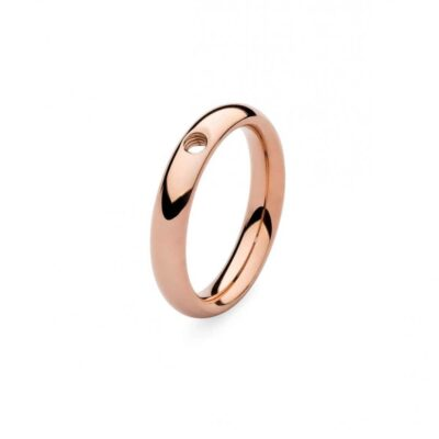 qudo thin band rose gold