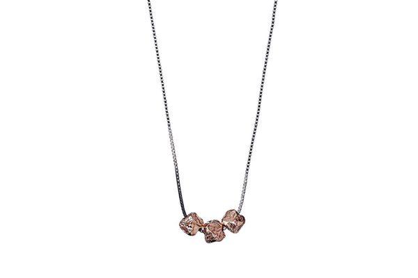 Pilgrim mix metal necklace