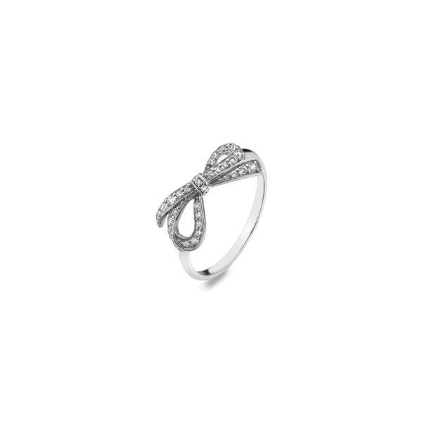 Virtue ribbon ring