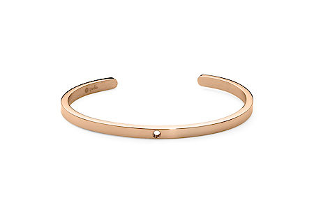 Qudo Rose gold bangle