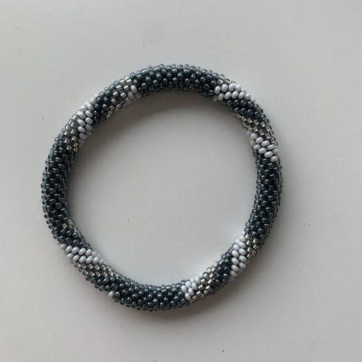 roll on bracelet blue