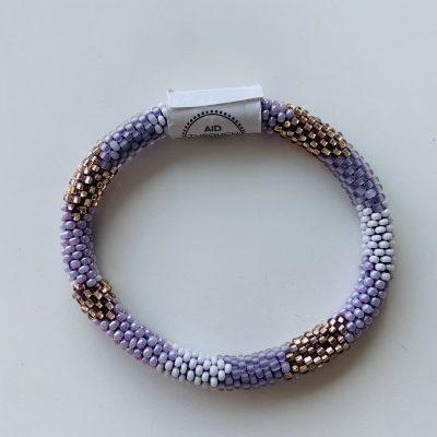 roll on bracelet purple