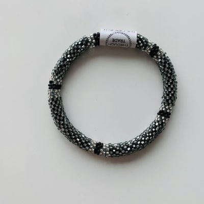roll on bracelet black
