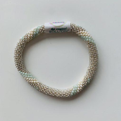 roll on bracelet green