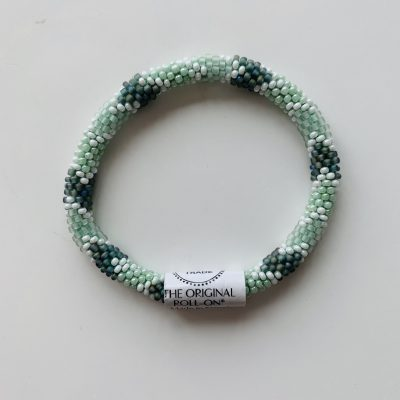 roll on bracelet green