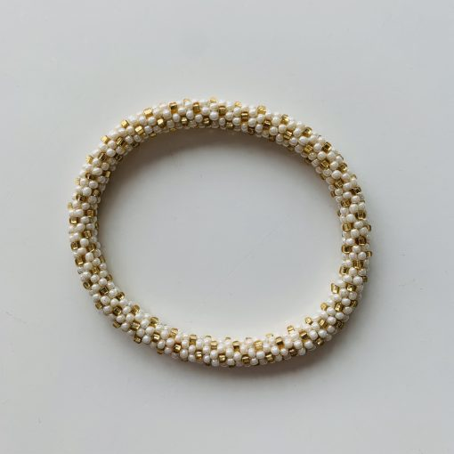 roll on bracelet gold cream