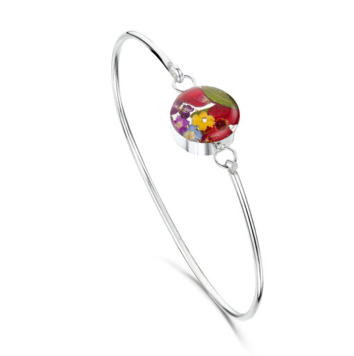 real flower bangle