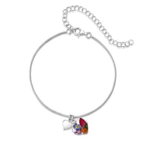 mixed flower bracelet