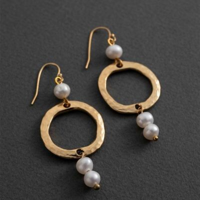Danon Diana pearl earrings