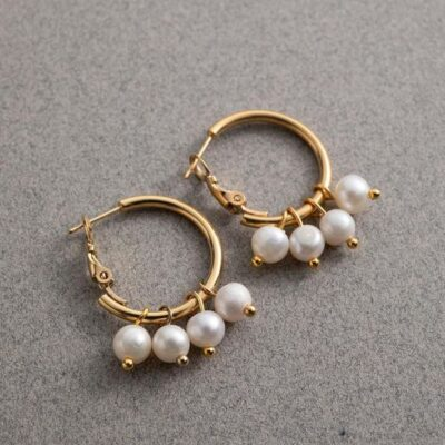 Diana Pearl Earring