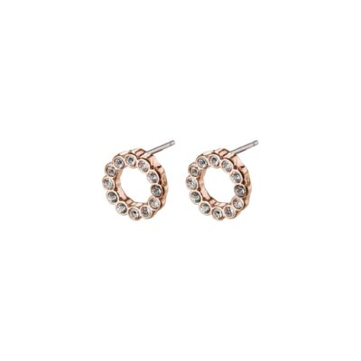 Malin studs rose gold